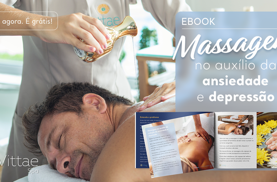 Ebook Grátis: Massagem no auxilio da ansiedade e depressão