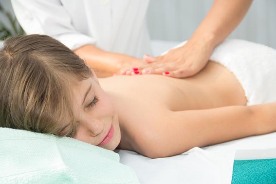 Benefícios da massagem para crianças