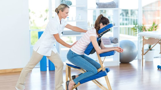 Quick Massage: Melhorando o ambiente de trabalho